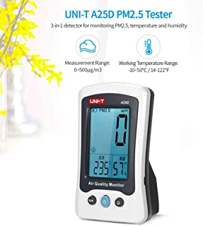 WYZXR CO2 Gas Alarm Detector,Laser Air Quality Monitoring Tester CO2 Detection 400PPM~5000PPM CO2 Meter for Home,with Alarm Prompt Two-Color LED Backlight
