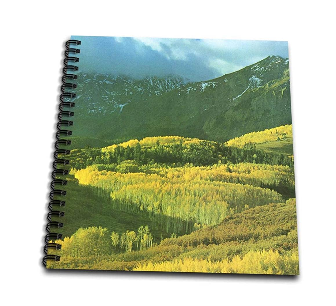 3dRose db_34644_1 Colorado Mountains-Drawing Book, 8 by 8-Inch