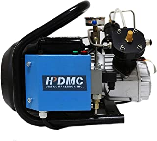 HPDMC 110v 4500psi High Pressure Air Compressor PCP Paintball Fill Station & Charging System