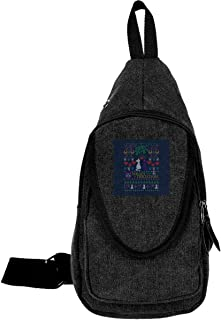Sailor Moon Luna And Artemis Cats Meowy Christmas Traveling Chest Bags For Men&Women Multipurpose Casual Daypack Hiking Shoulder Bag