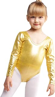 Gymnastics Leotards for Girls Metallic Ballet Leotard Girls Dance Ballerina Clothes