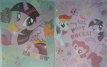 2 My Little Pony Pocket Folders