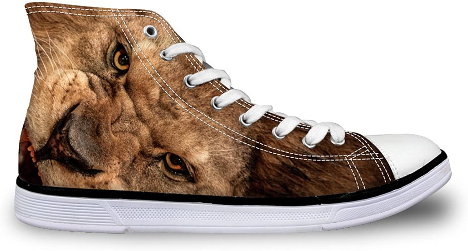 Chaqlin Fashion Animal Lion Casual Man shoes Popular Trainers Sport Sneakers Size 38