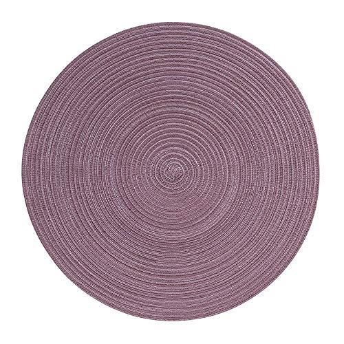 Pichler Tischset SAMBA Mauve 38 cm rund