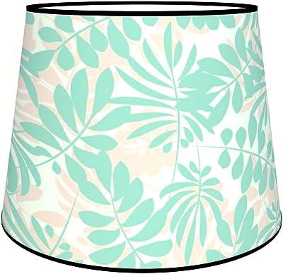 Abat-jours 7111307749882 Conique Fileo Lampe de Chevet, Tissus/PVC, Multicolore