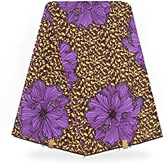 Lace - Holland Wax Prints African Wax Prints Fabric Super Wax hollandais African Fabric Fabric for Dress Dutch Wax ybg989 - (Color: As Picture)