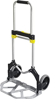 Safco Office Industrial Folding Stow-Away Collapsible Hand Truck