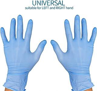 Avanti - Guantes desechables nitrilo 100 piezas sueltas | Guantes quirurgicos | Guantes sin latex y sin polvo para exámenes, limpieza, trabajo| Talla M | Adultos y niños. Apto para ambas manos