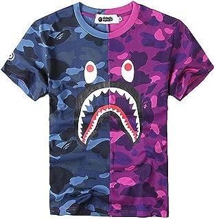 Juniors Casual Fashion Crewneck T Shirt Shark Camo Tees Tops for Teens