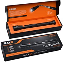 RAK Magnetic Pickup Tool with LED Lights – Telescoping Magnet Pick Up Gadget Tool..