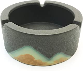 Ashtrays for Cigarettes, Portable Decorative Modern Ashtray for Home Office Indoor Outdoor Patio Use, Fancy Cute Cool Ash ...