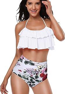 super cute release date: new york Amazon.fr : maillot de bain 2 pieces avec volant