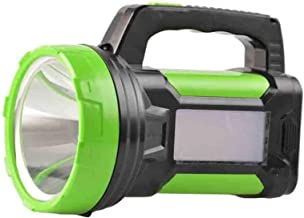 Rechargeable LED Searchlight Handheld Strong Long-Range Flashlight Suitable for Outdoor Hunting Marine Lighting Emergency ...