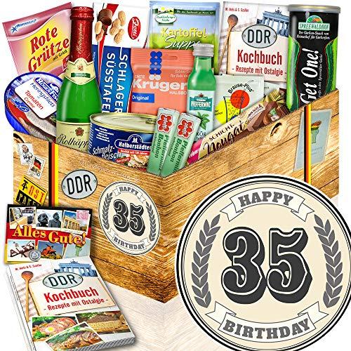 Geschenke zum 35 Geburtstag / Geschenke zum 35. / Spezialitäten Korb