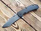 Custom Scale for Zero Tolerance 0560 - 0561, Model - 3D Classic, CarbonFiber (Sold Only Hamdles)