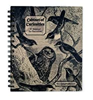 キャビネットのCuriosities鳥JournalBook – - side-bound ( 8.5 X 7.5インチ)ノートブック – - Watch for the Birds。( JournalBook )