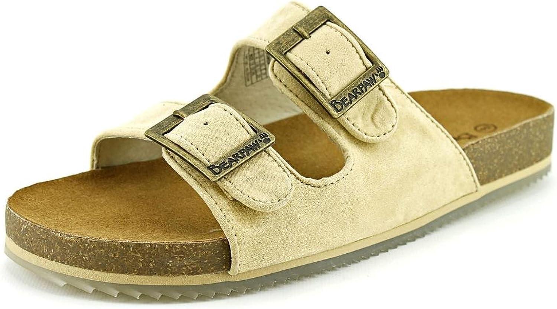 Bearpaw Casual shoes Womens Brooklyn Microsuede Sandal Cork 1768W