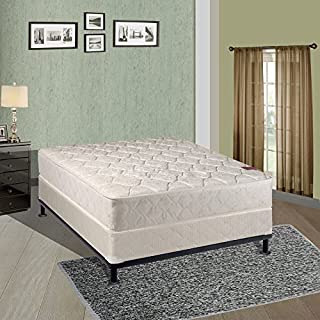 Continental Sleep, 8-inch Fully Assembled Gentle Firm Orthopedic Mattress and 8-inch