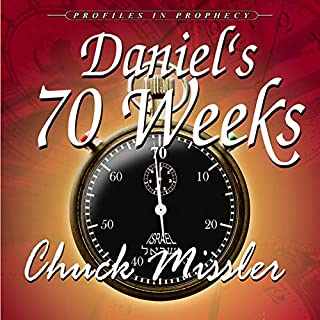 Daniel's 70 Weeks audiobook cover art