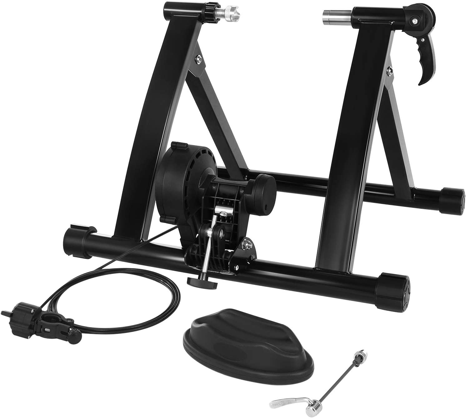 SONGMICS 絶品 Magnetic Bike Trainer Stand Wheel with Noise 正規逆輸入品 Reduction
