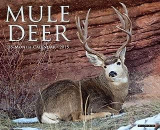 By Willow Creek Press Mule Deer 2015 Wall Calendar (Wal) [Calendar]