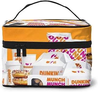 Du-nkin Do-nuts Rectangular Cosmetic Travel Bag Makeup Storage Toiletry
