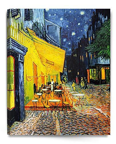 アートパネル ゴッホ 抽象画 油絵風景画 壁絵 モダン 絵画 ポスター インテリア絵画 『夜のカフェテラス』 壁アート 壁掛け絵画