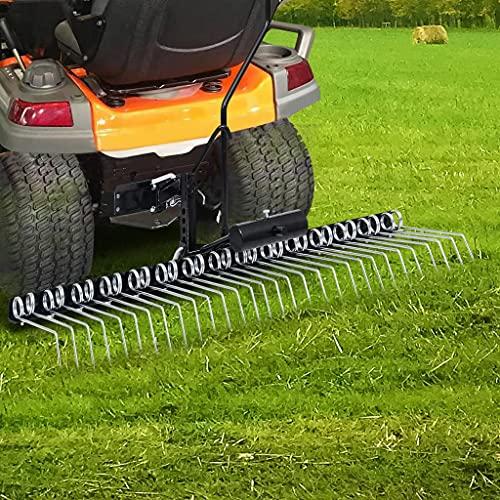 Gartenmaschinen Vertikutierer für Aufsitzmäher 120 cm