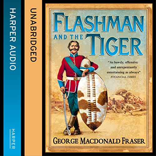 Page de couverture de Flashman and the Tiger