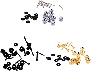 MagiDeal 30Pcs Strap Lock Button Pins Straplock for Electric Bass Guitar Ukulele Accessory