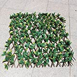 NatraLavender Artificial Greenery Outdoor, Indoor Lattice...