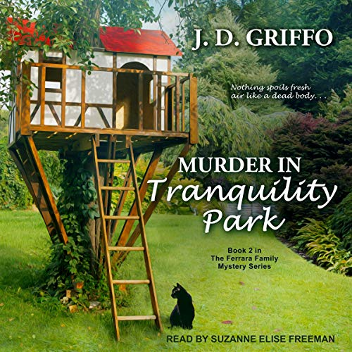 Murder in Tranquility Park audiobook cover art