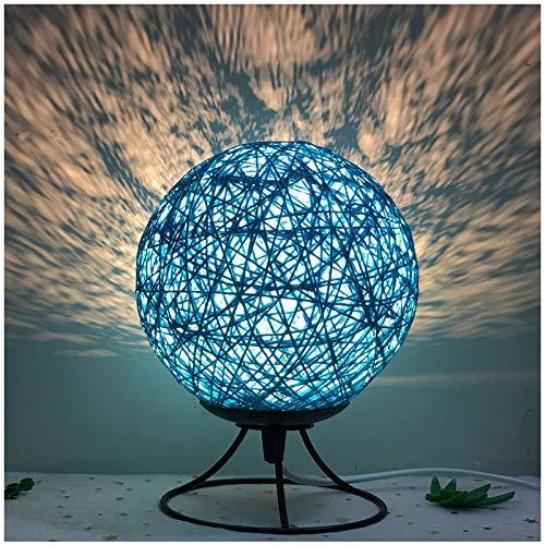 Kunst-Wohnzimmerdekoration der einfachen modernen kreativen Ballnachtlichtschlafzimmer-Nachttischlampe der Art und Weise romantische, die Geschenk-Tischlampe verdunkelt