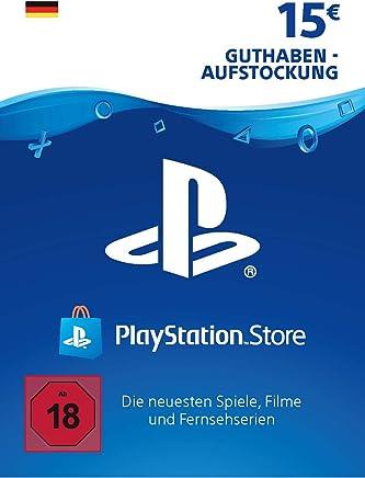 PSN Card-Aufstockung   15 EUR   deutsches Konto   PSN Download Code