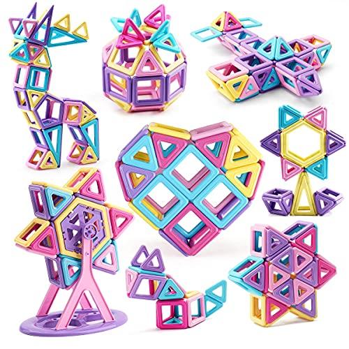 Amy&Benton Castle Magnetic Blocks for...