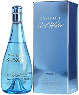 Cool Water By Davidoff For Women Edt Spray 6.7 Oz, 200 ml