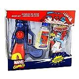 Spiderman Gel de Ducha y Pistola, color Azul - 3 Piezas