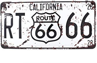6x12 Inches Vintage Feel Rustic Home,Bathroom and Bar Wall Decor Car Vehicle License Plate Souvenir Metal Tin Sign Plaque ...