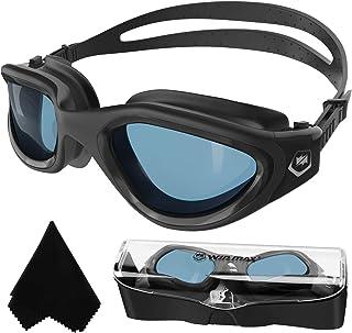 عینک شنا قطبی شنا شنا ضد مه ضد اشعه ماورا UV بنفش بدون نشت بدون دید برای مردان زنان بزرگسالان نوجوان
