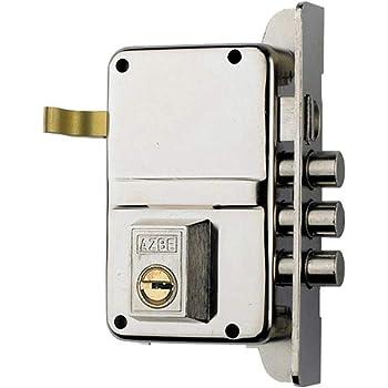 AZBE 3010087 Cerradura Seguridad 8-hn/YL6/ Derecha: Amazon.es: Bricolaje y herramientas