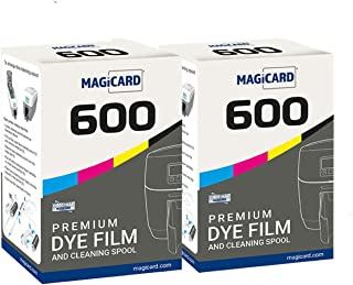 2 x Magicard 600 Printer MB300YMCKO Color Ribbon - YMCKO - 300 Prints with Bodno Software Demo Card