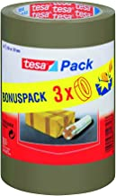 Tesa 57529-0000-01 Set van 3 rollen polypropyleen plakband 66 x 50 mm
