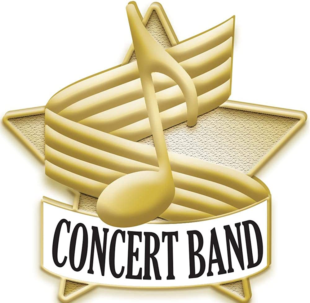Concert Band Detroit Limited time sale Mall Pin Lapel Button