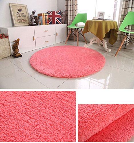 Ronde tapis tapis de yoga fitness salon chambre ordinateur chaise tapis (Couleur : E, taille : 160 * 160cm)