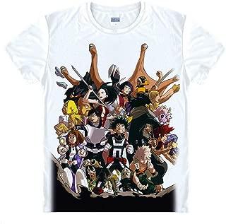 Men's My Hero Academia T Shirt Class 1A – Boku No Hero Cosplay Deku Bakugo Uraraka Tsuyu
