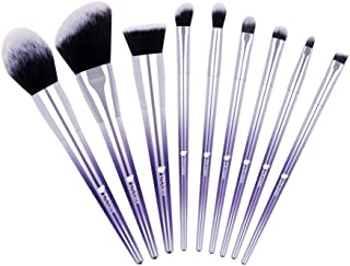 DUcare Makeup Brush Set 9Pcs Ombré Color Professional EyeShadow Foundation Powder Blending Brushes