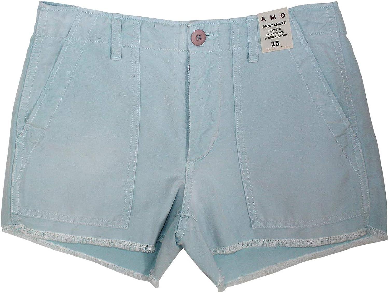 AMO Womens Army Shorts 25,28