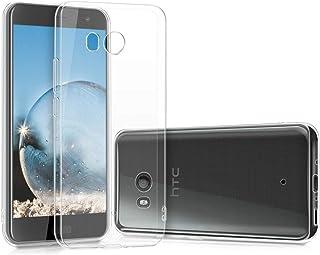 HTC U11 TPU Silicone Clear Case Back Cover by Muzz