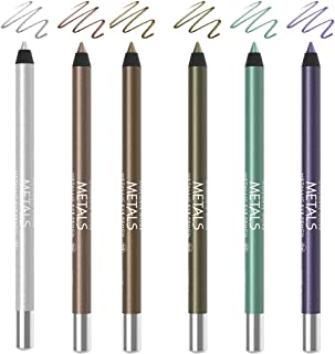 Golden Rose Metals Metallic Eye Pencil Set Of 6
