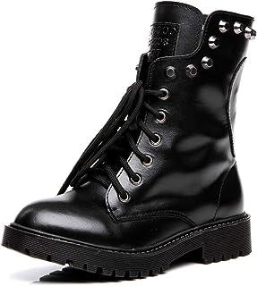 Amazon.es: Calaveras Botas Zapatos para mujer: Zapatos y